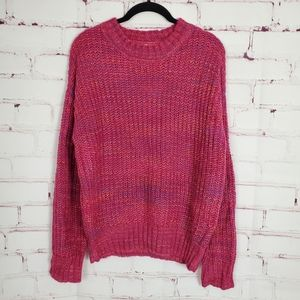 Band of Gypsies Sweaters - Band of Gypsies Glacee Ribbed Mock Neck Sweater M